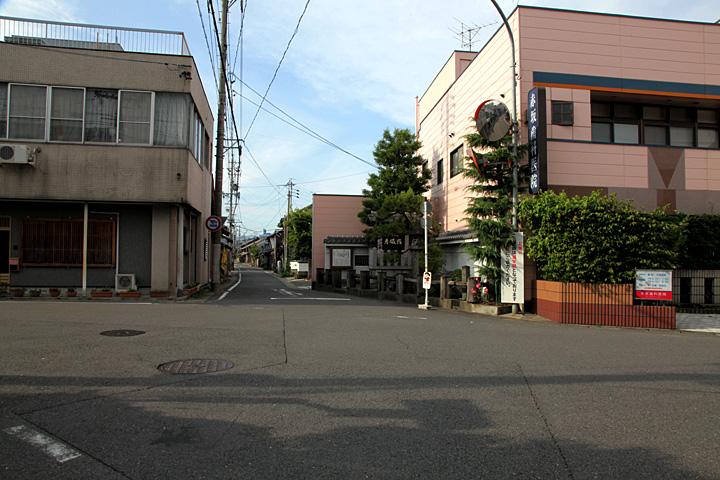 四ッ辻と谷汲巡礼街道