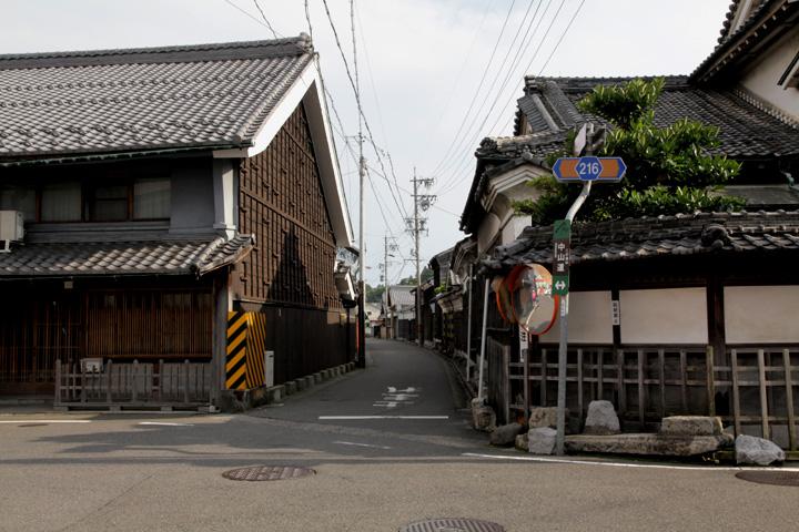 四ッ辻と養老街道