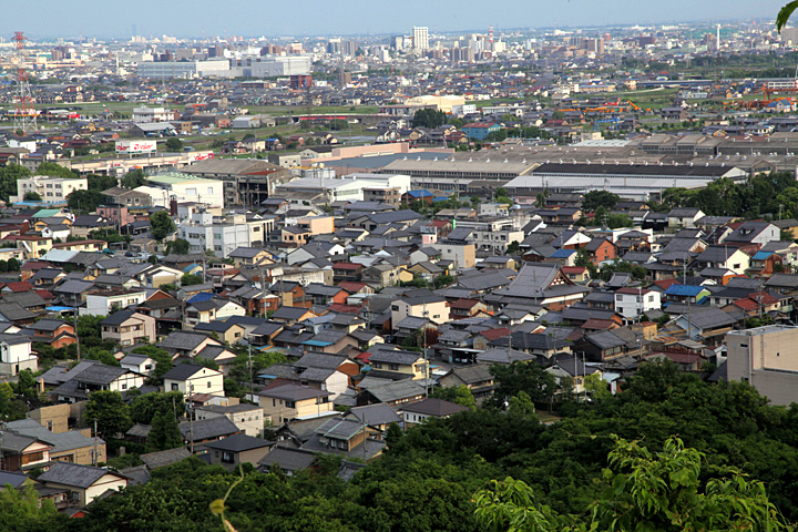 赤坂宿の町並み
