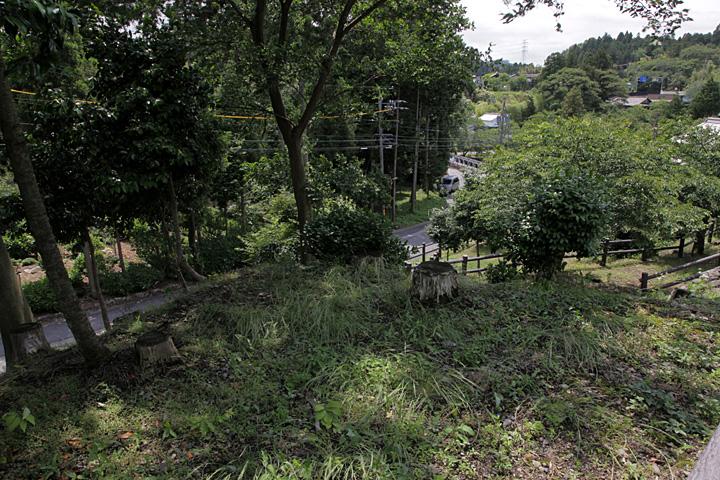 不破の関西城門跡