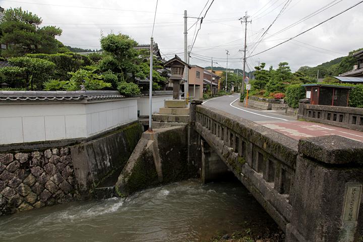 今須宿東の入口