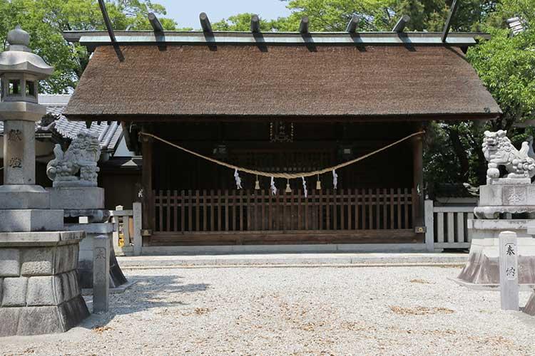小垣江神明神拝殿