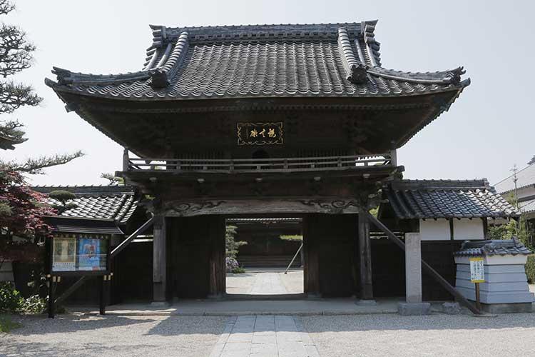 誓満寺山門