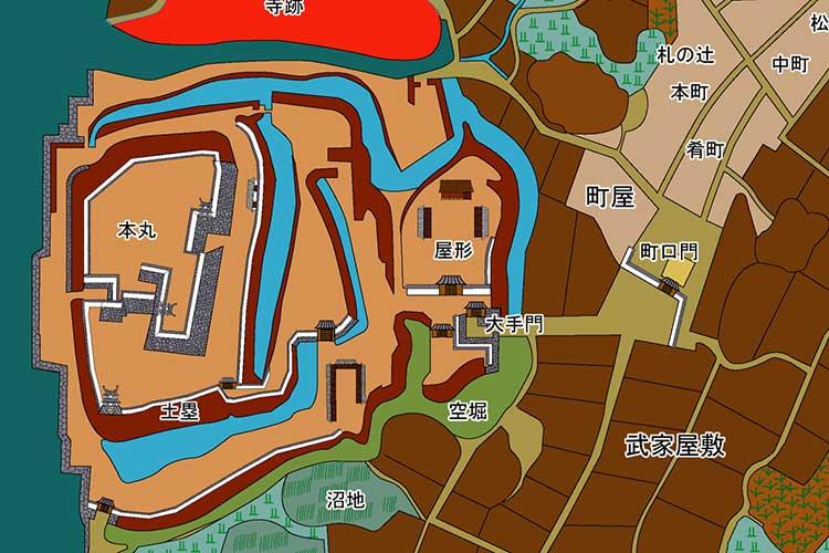刈谷城下図