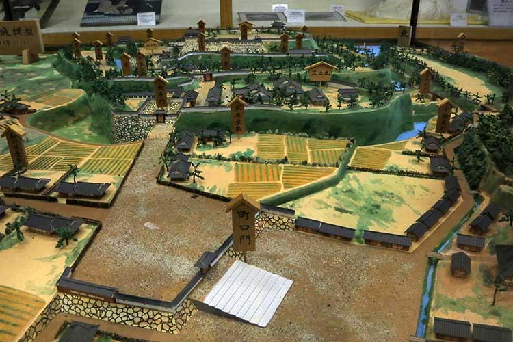 刈谷城のジオラマ