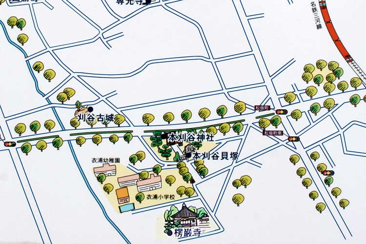 楞厳寺(りょうごんじ)周辺地図