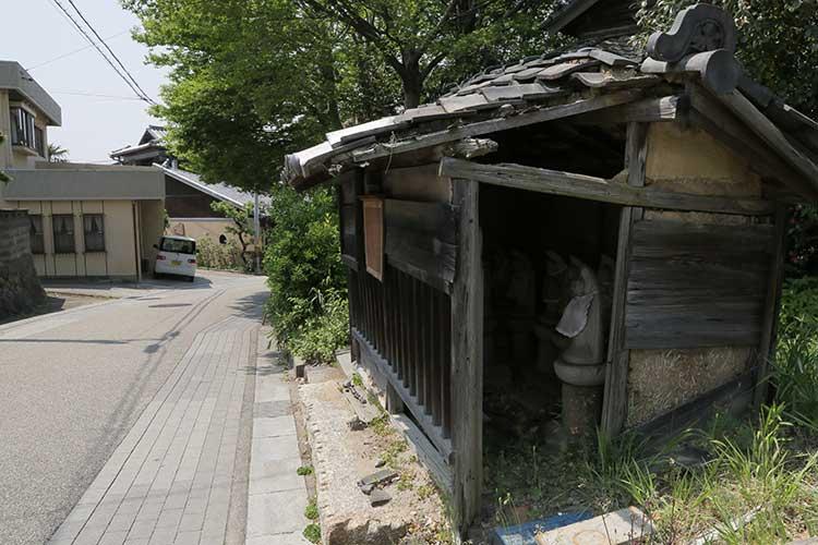 大日寺前の大浜街道