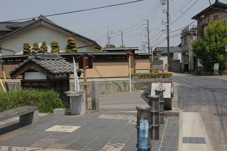 道祖神と大浜街道