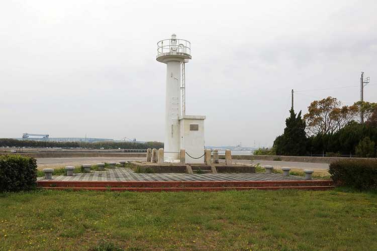 権現崎灯台(現在は公園として整備されている)