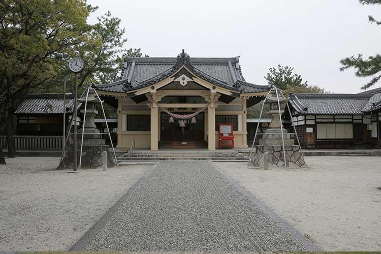 大浜熊野大神社拝殿