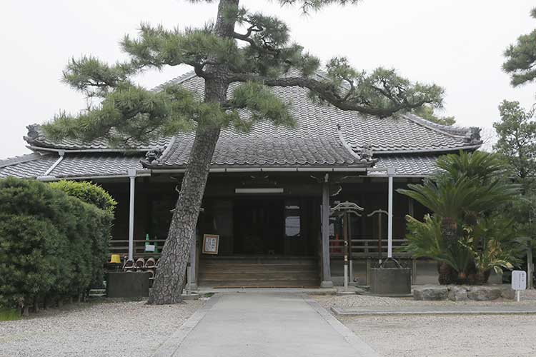 東正寺本堂