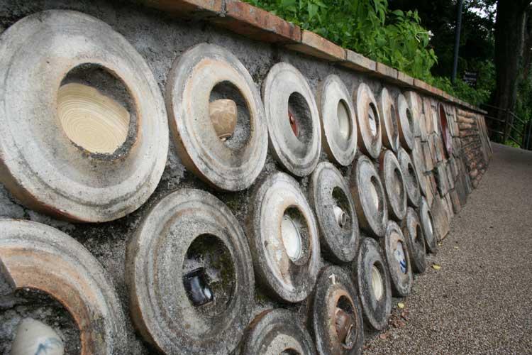 平成の窯垣
