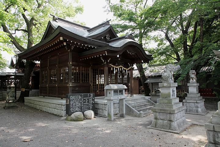 勝川天神社本殿