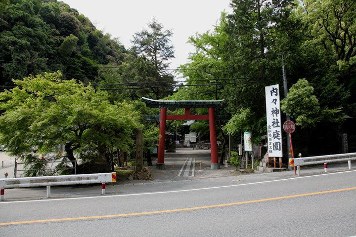 内々神社社殿