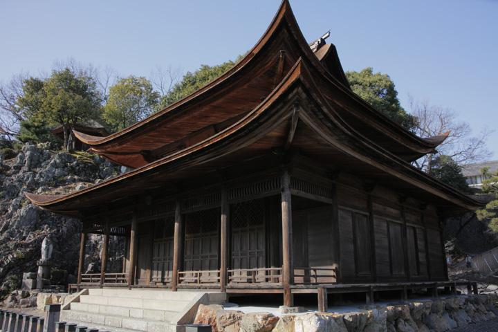 国宝 観音堂