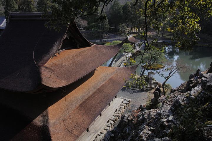 国の名勝に指定されている池泉回遊式庭園