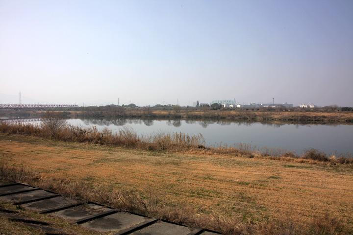 本郷の渡し(揖斐川)