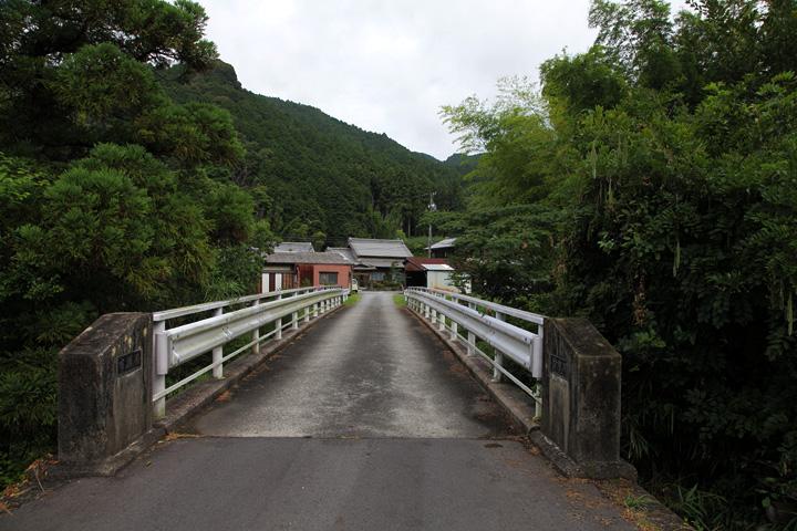 鈴鹿川に架かるかけはね橋