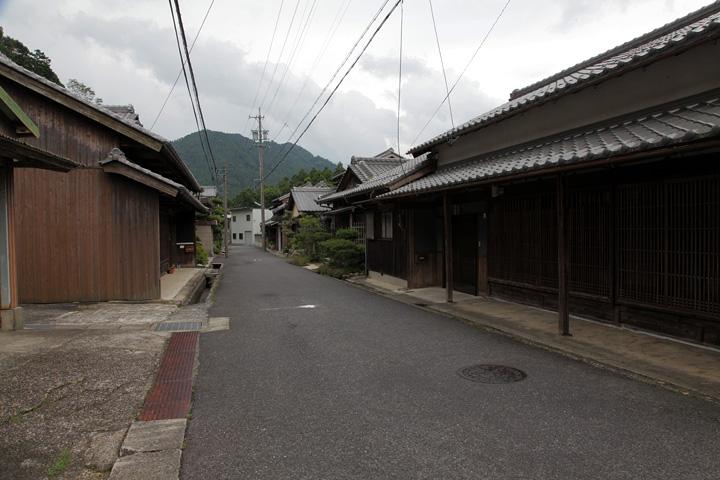 関町沓掛の町並み