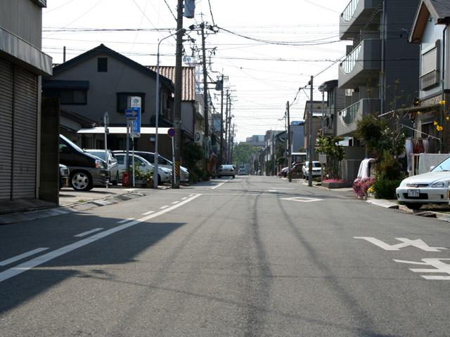 吉田宿鍛冶町付近