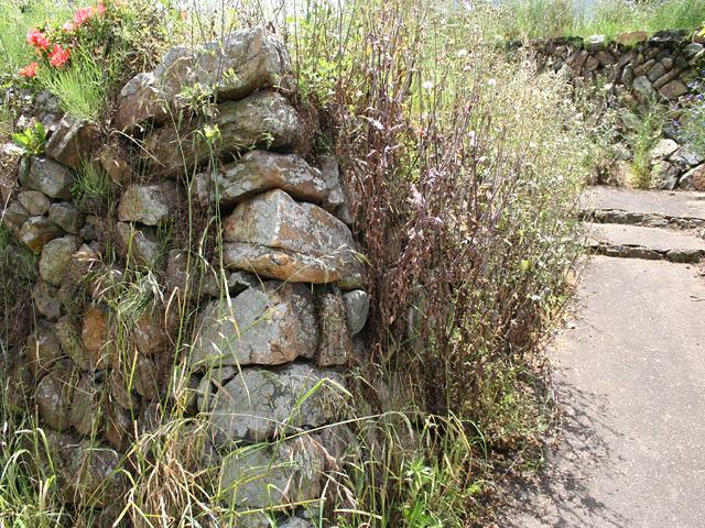 本陣跡の石垣