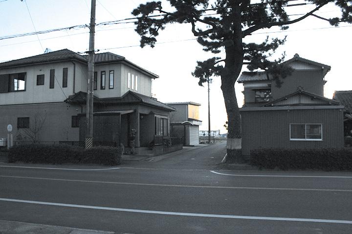 熊野神社の西側の鎌倉街道