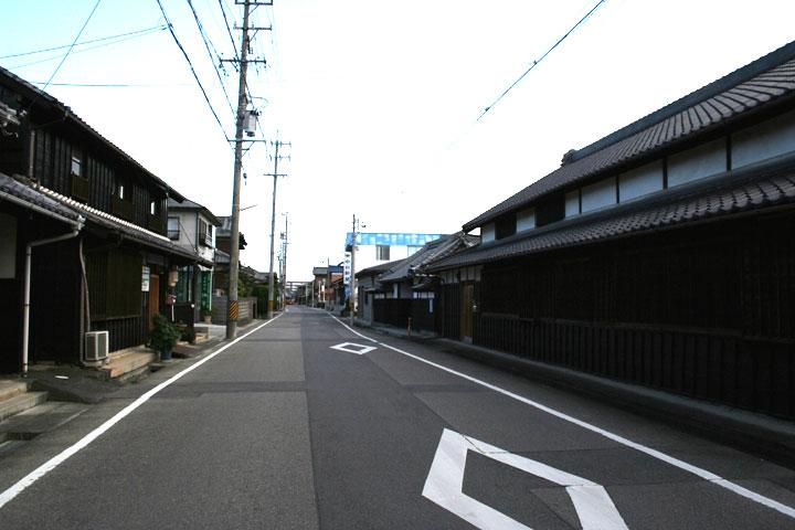 東海道乗蓮寺付近