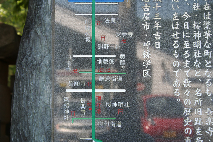 東海道・鎌倉街道周辺地図