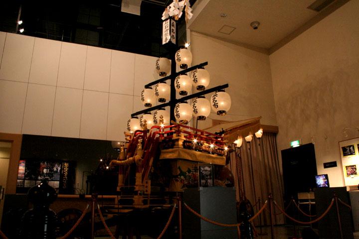 石取会館展示