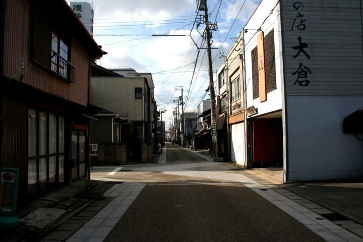 京町付近の東海道