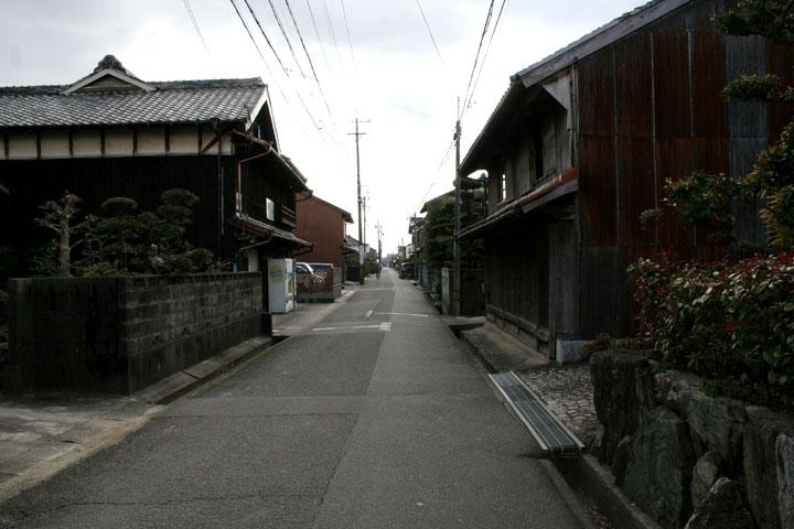庄野宿入り口
