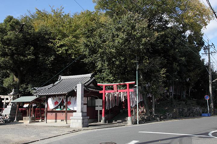 山神社・安井城跡