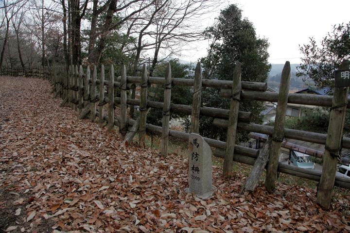 明智城馬防柵