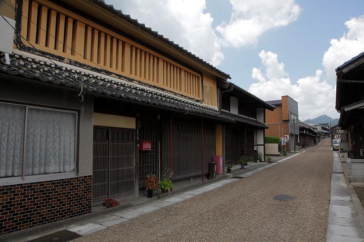 東海道関宿 木崎町の町並み