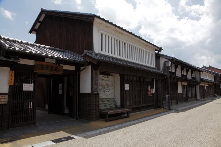 百六里庭(眺関亭) 関宿が江戸から106里余りあることから名付けられた
