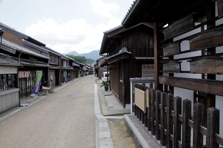 関宿 中町の町並み