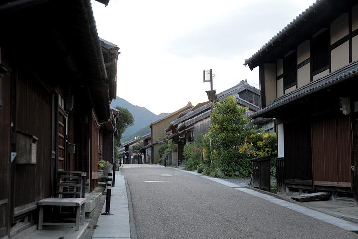 関宿 新所の町並み