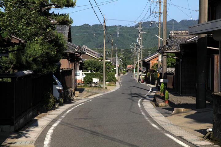 梶ケ坂の町並み