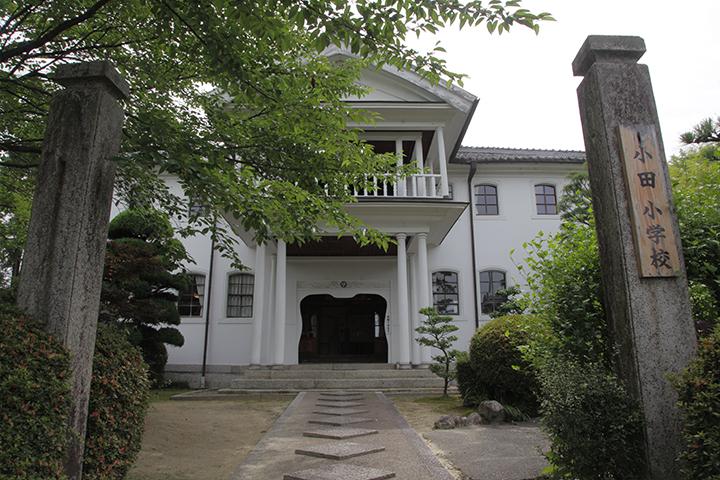 旧小田小学校本館 明治14年の創建  現存する小学校校舎としては三重県で最古