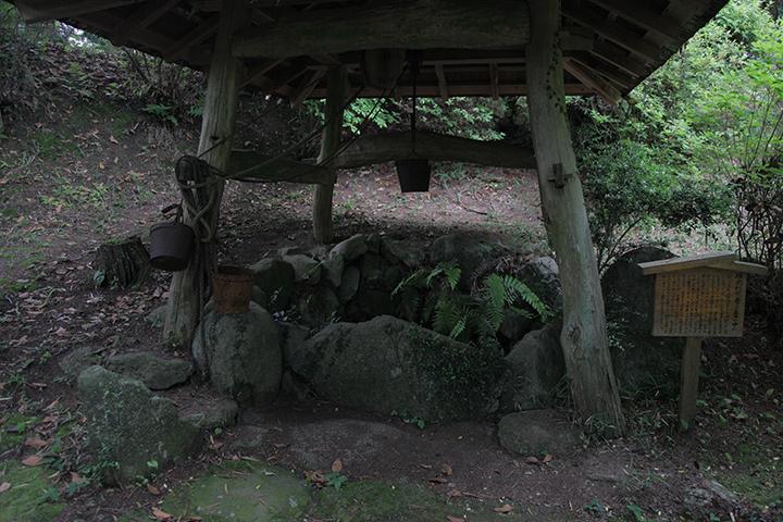 福地城跡の古井戸