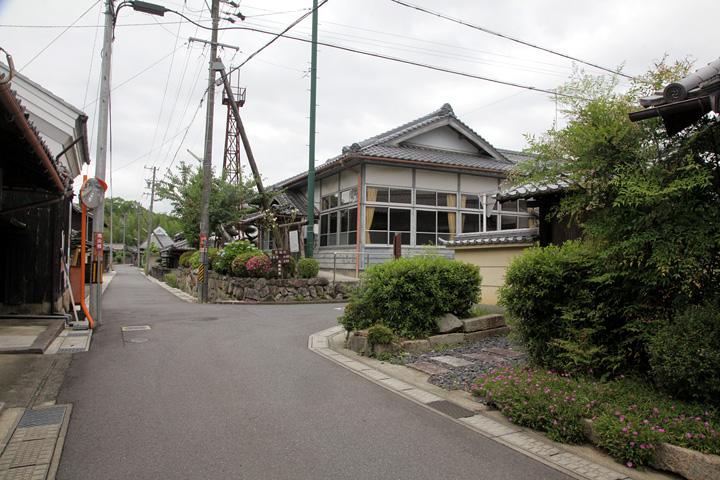 旧本陣と町区公民館