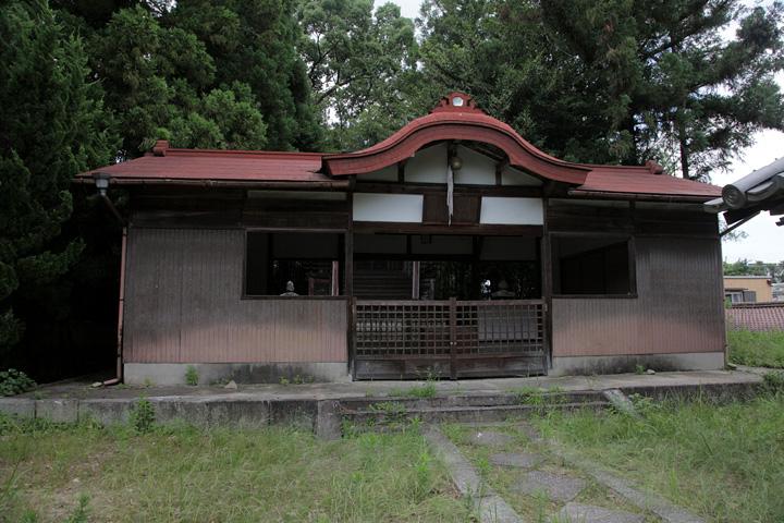 阿部神社拝殿