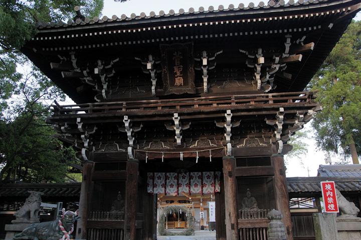 菅原神社楼門