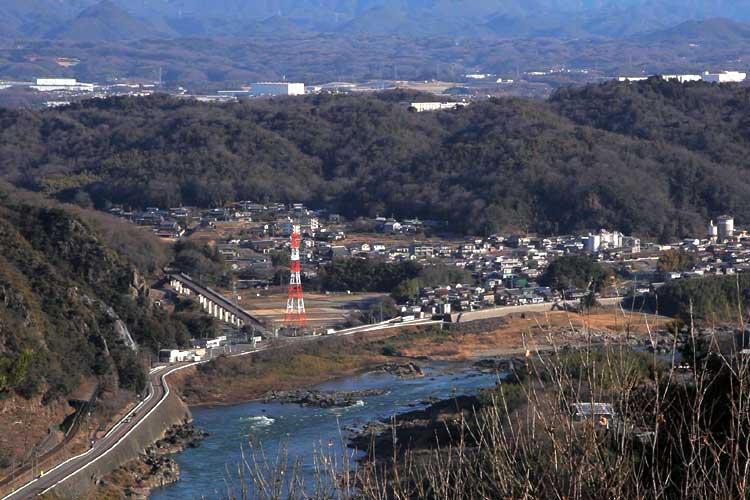 日本ライン勝山付近