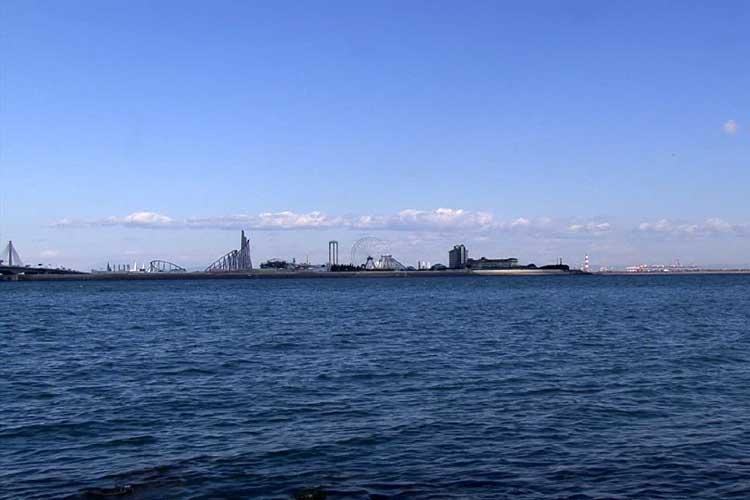 木曽川河口・伊勢湾