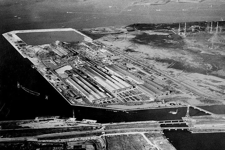 誘致された工場 提供:東海市