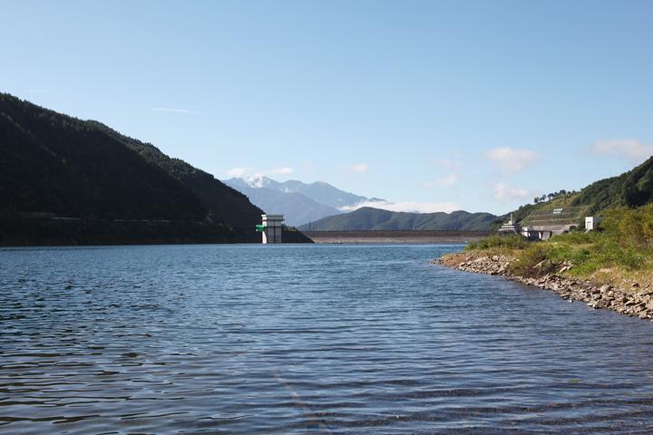 奥木曾湖と味噌川ダム