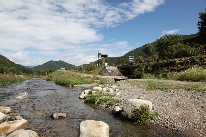 木曽川源流の町木祖村