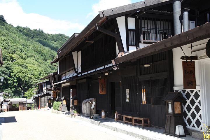 中山道福島宿