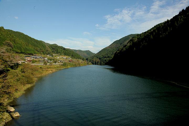 木曽川笠置町河合付近